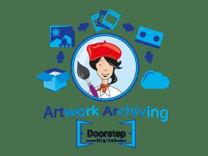 Artwork Archiving | Scanning Children's Artwork | Doorstep Digtial