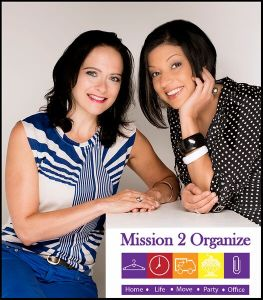Schae and Bahar - Mission 2 Organize - Chicago Professional Organizers